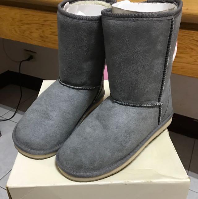 降價🎉MUJI無印良品灰色雪靴S Size/23cm