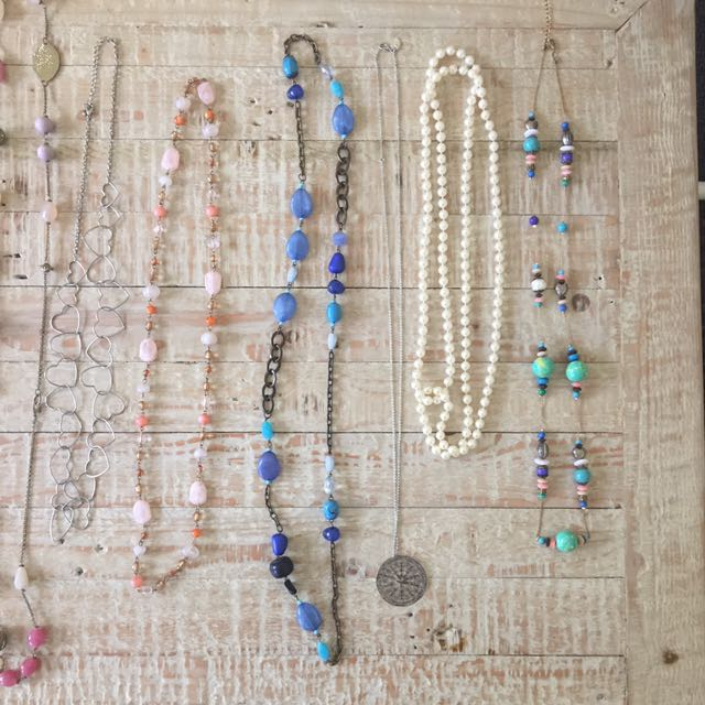Necklaces assorted from Lovissa  Colette