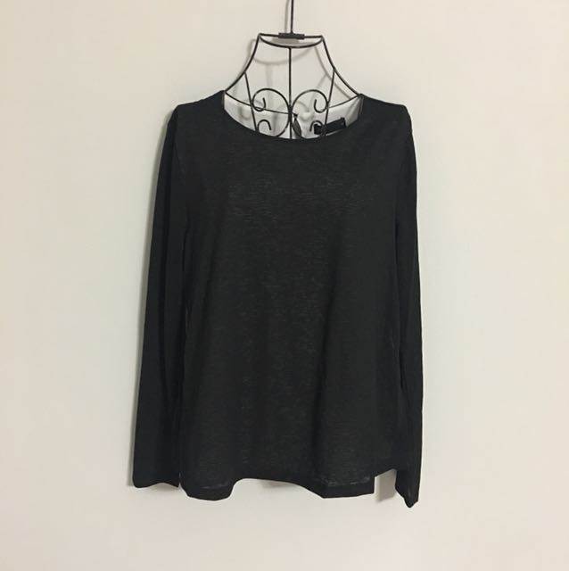🌹NEW - Simple Black Long sleeve