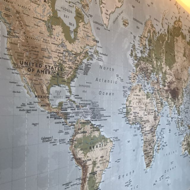 New Ikea Premiar World Map, Home & Furniture, Home Others on ...