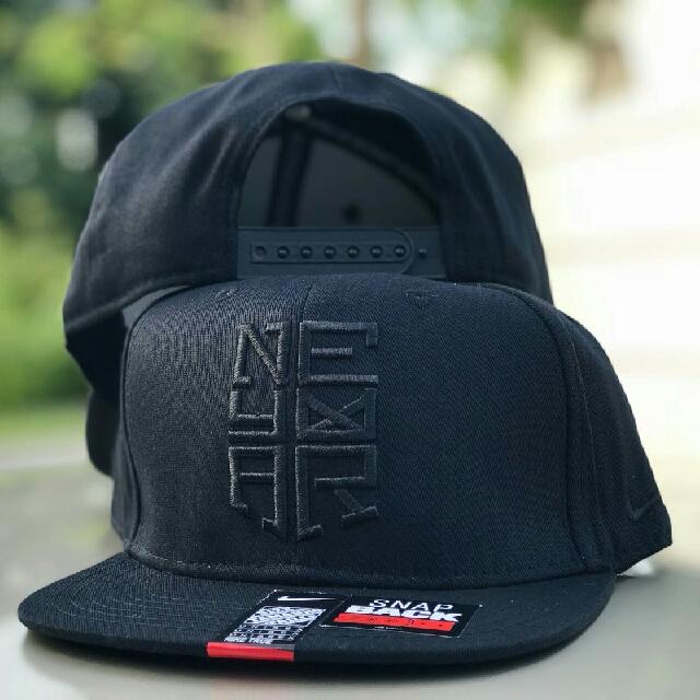 81b8417bef68bc Neymar All Black Cap, Men's Fashion, Accessories, Caps & Hats on ...