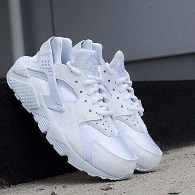 Nike Air Huarache白武士 女鞋
