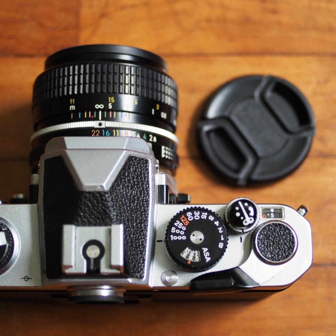 Nikon Fm Film Camera 35mm F28 Lens Photography On Carousell