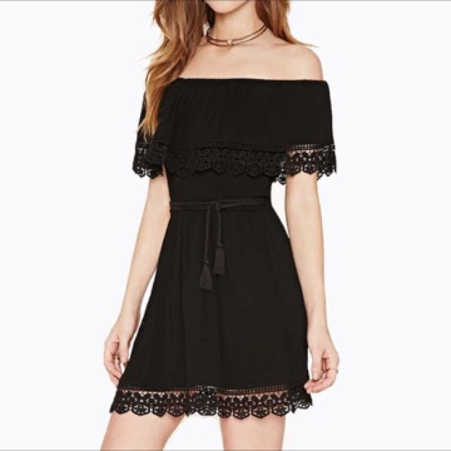 off the sholder dress