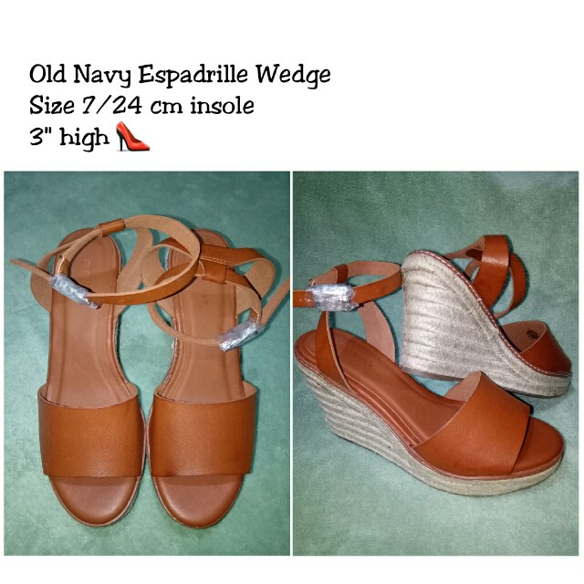 Old Navy Wide Strap Espadrille