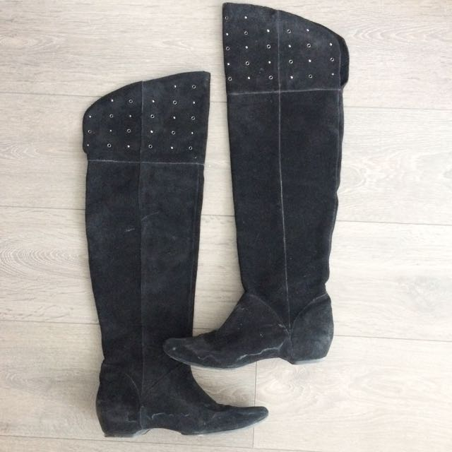 Over the knee Kenneth Cole reaction boots