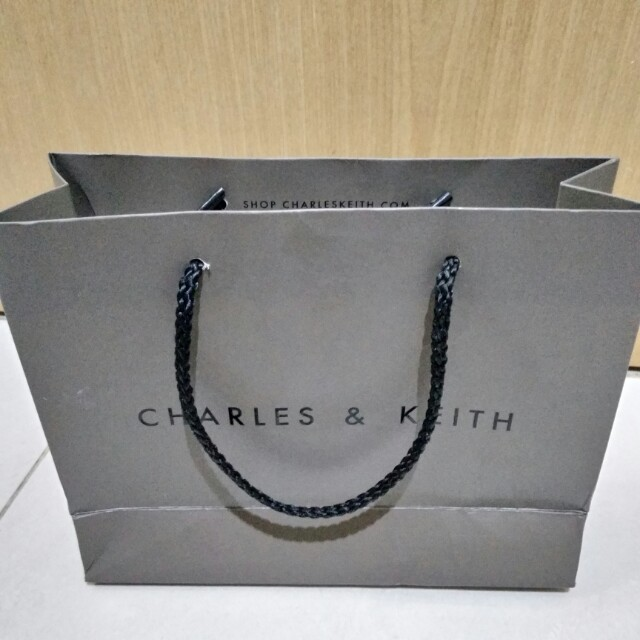 Paperbag charles&keith cnk ck small