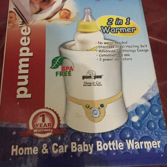 Home & car baby bottle warmer