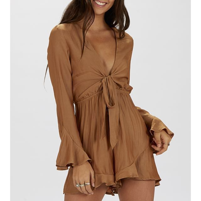 PEPPERMAYO playsuit with tie front