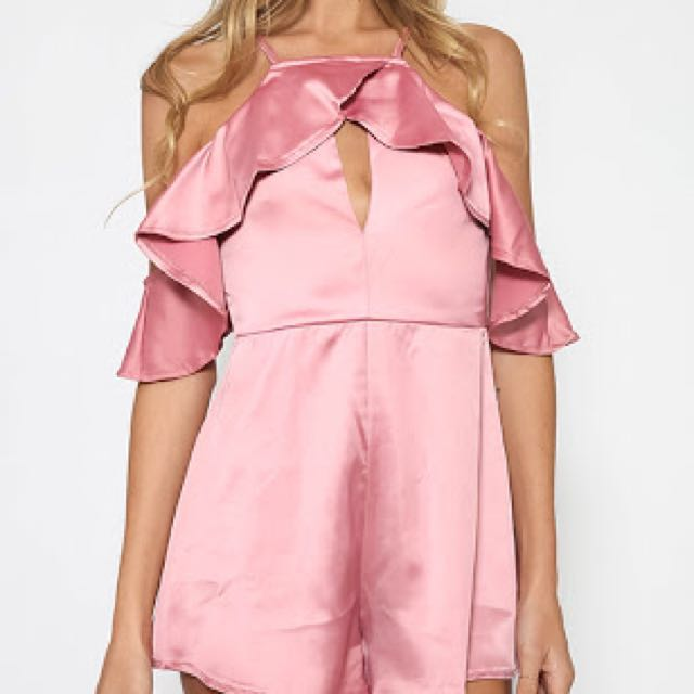 Pink Playsuit | Size 6