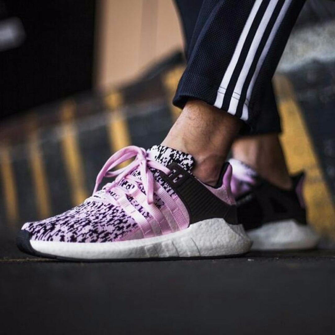 size 40 30be9 49a5c PO) Adidas Womens EQT Support Adv 93/17 Pink Glitch, Women's ...