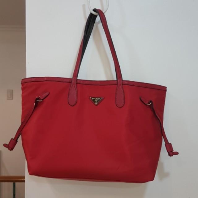 Prada reversible tote bag a4bb4c73f9d41