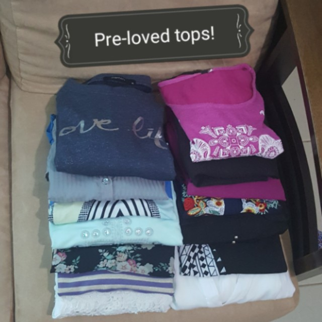 Pre-loved Tops! check out individual listing for the prices.