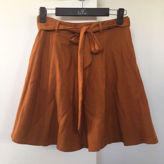 Princess Highway Linen Skirt