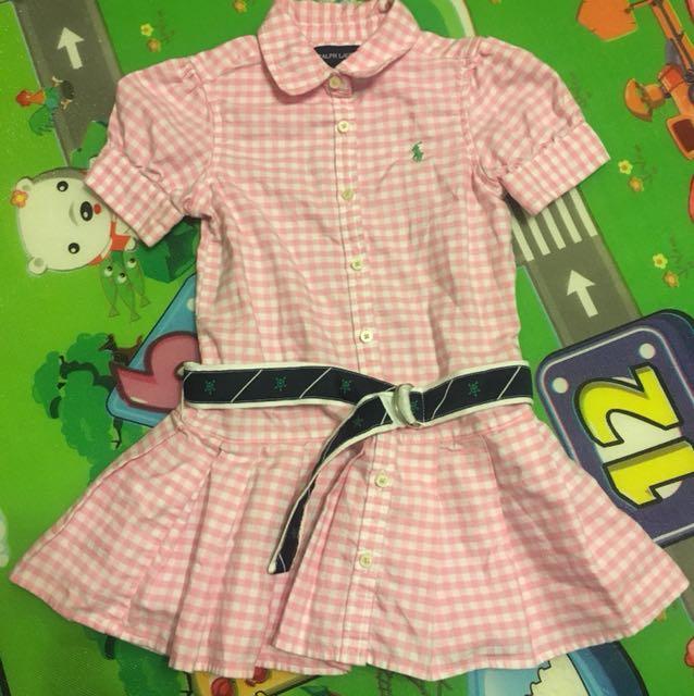 Ralph lauren size 3 girl dress