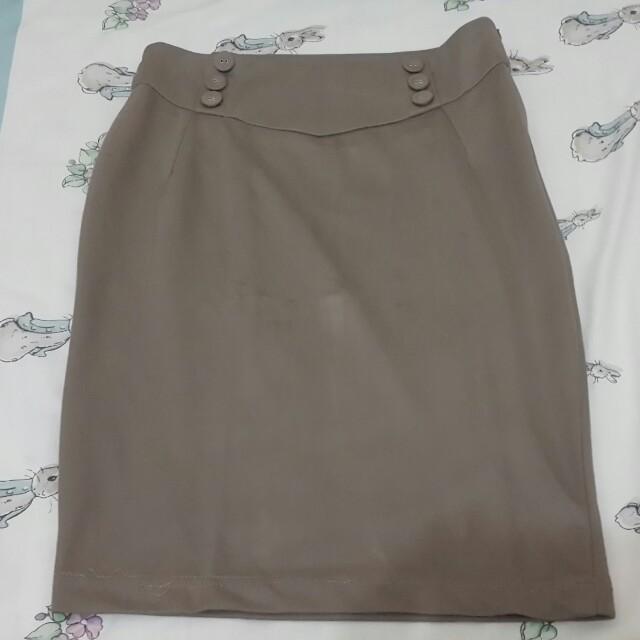 Rok Kantor / Rok Sepan / Rok Bahan / Skirt Bahan / Celana Kantor