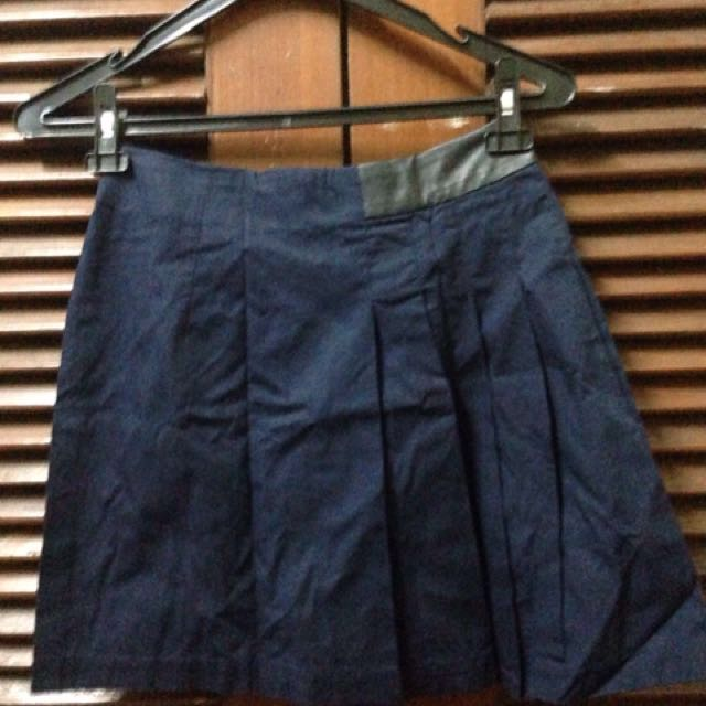 Rok mini navy blue