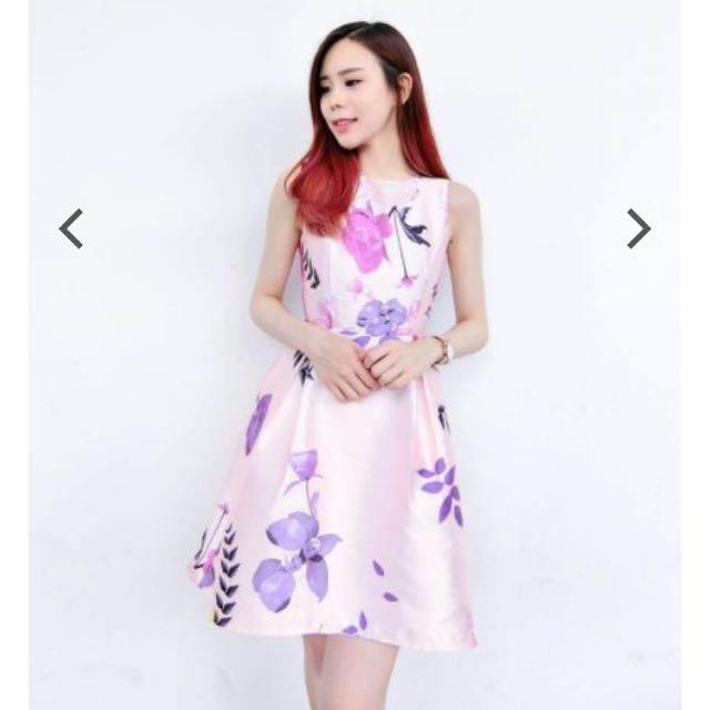 Room8008 Floral Dress