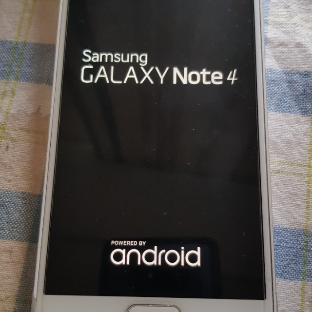 Samsung note4白過保