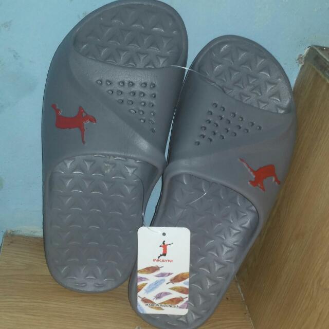 Sandal Karet Abu2, New