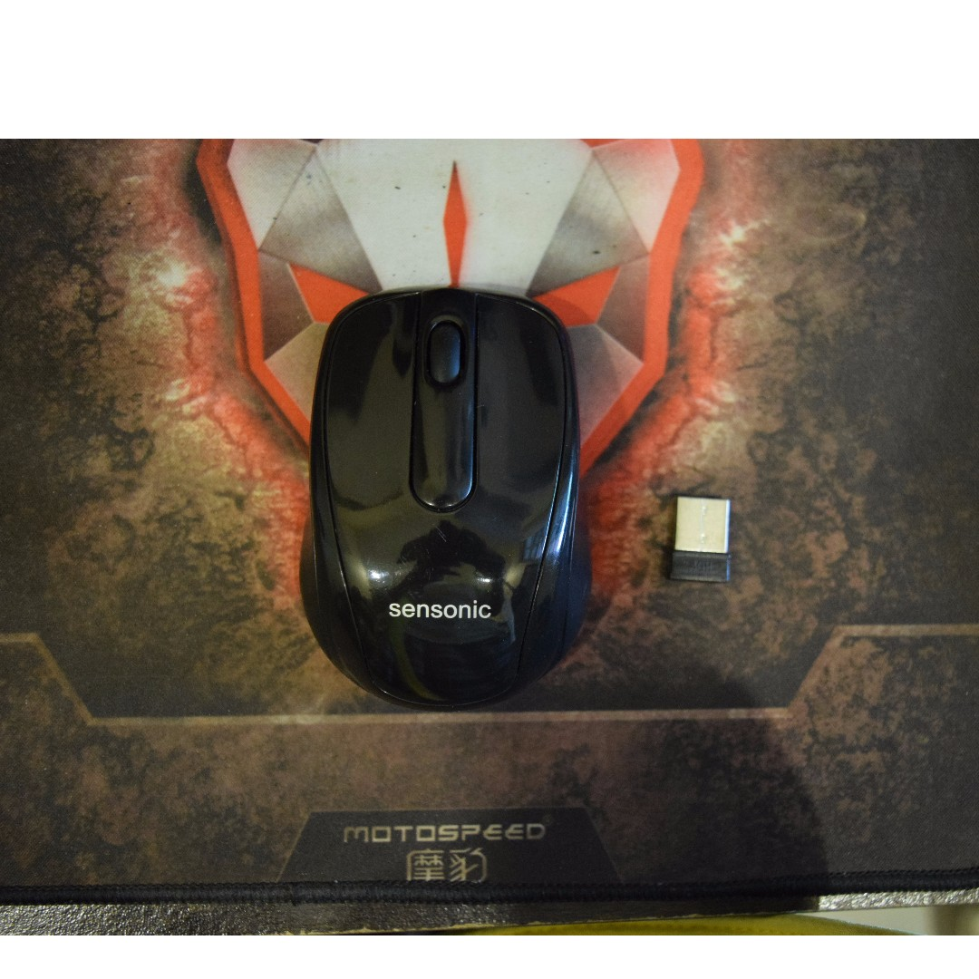 Sensonic Mx300 Wireless Optical Mouse Electronics Computer Parts Gaming 24ghz Accessories On Carousell
