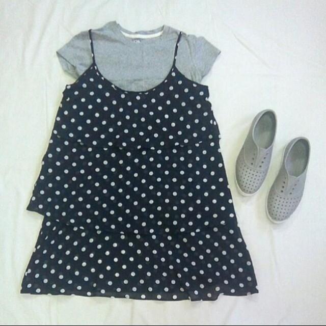 Sisley Black Dress