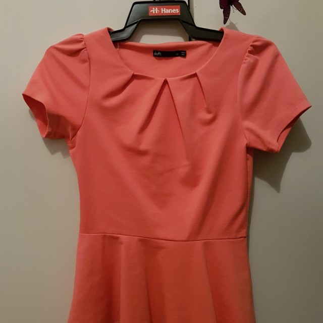 Size XS coral shirt