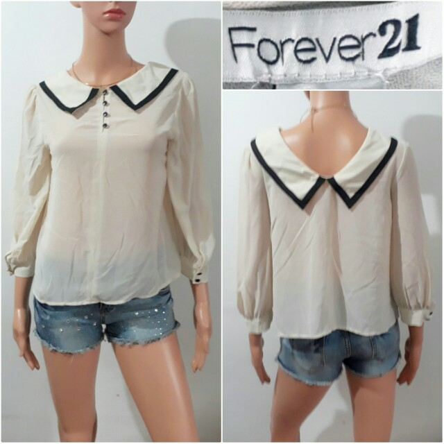 (S-M) Forever 21 classy top