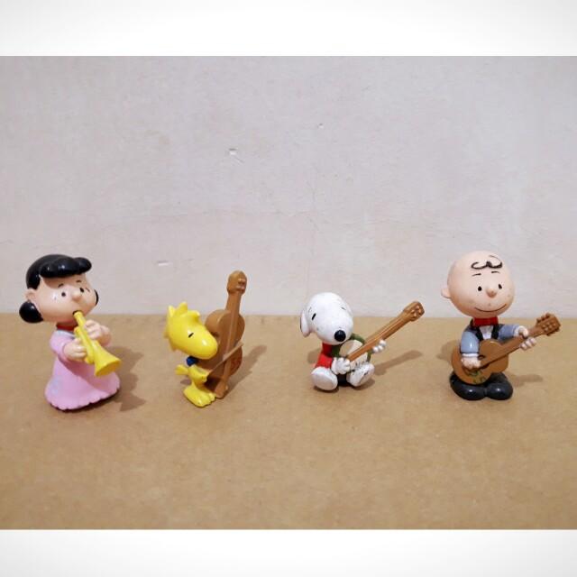 [絕版收藏]Snoopy 55週年紀念版 公仔 玩具 4個一組 #好物任你換