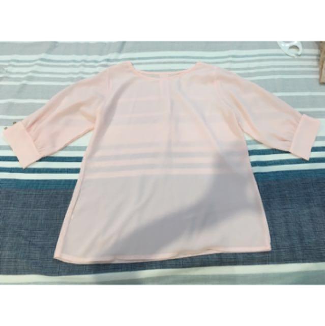 Soft Pink Blouse