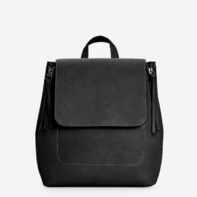 Stradivarius Mini Zipper Back Pack