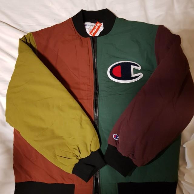 Supreme x Champion Blocked Jacket