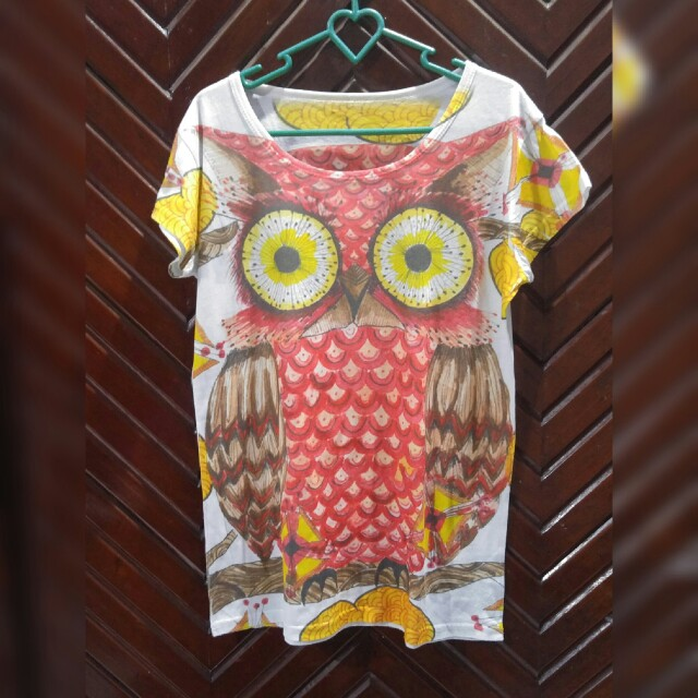 T shirt owl