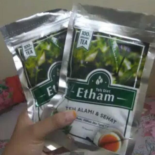 Teh Diet Etham 100%herbal, Food & Drinks, Non-Alcoholic Beverages on Carousell