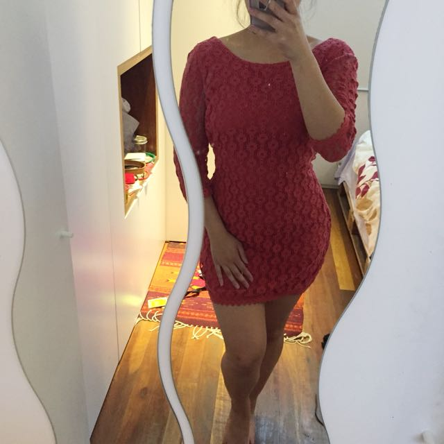 TIGERLILY new lace bodycon