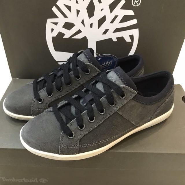 全新正品Timberland麂皮休閒鞋5.5