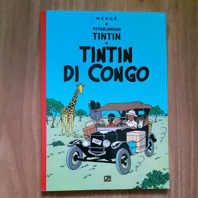 Tintin Di Congo [Bahasa Indonesia]