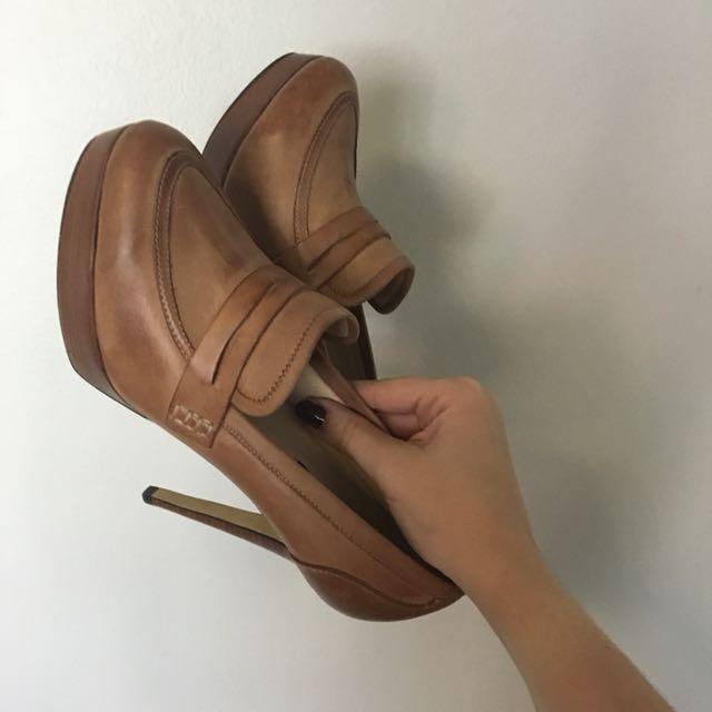 Tony Bianco heeled loafers