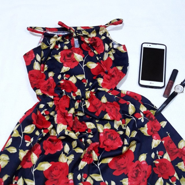 Trendy Halter dress