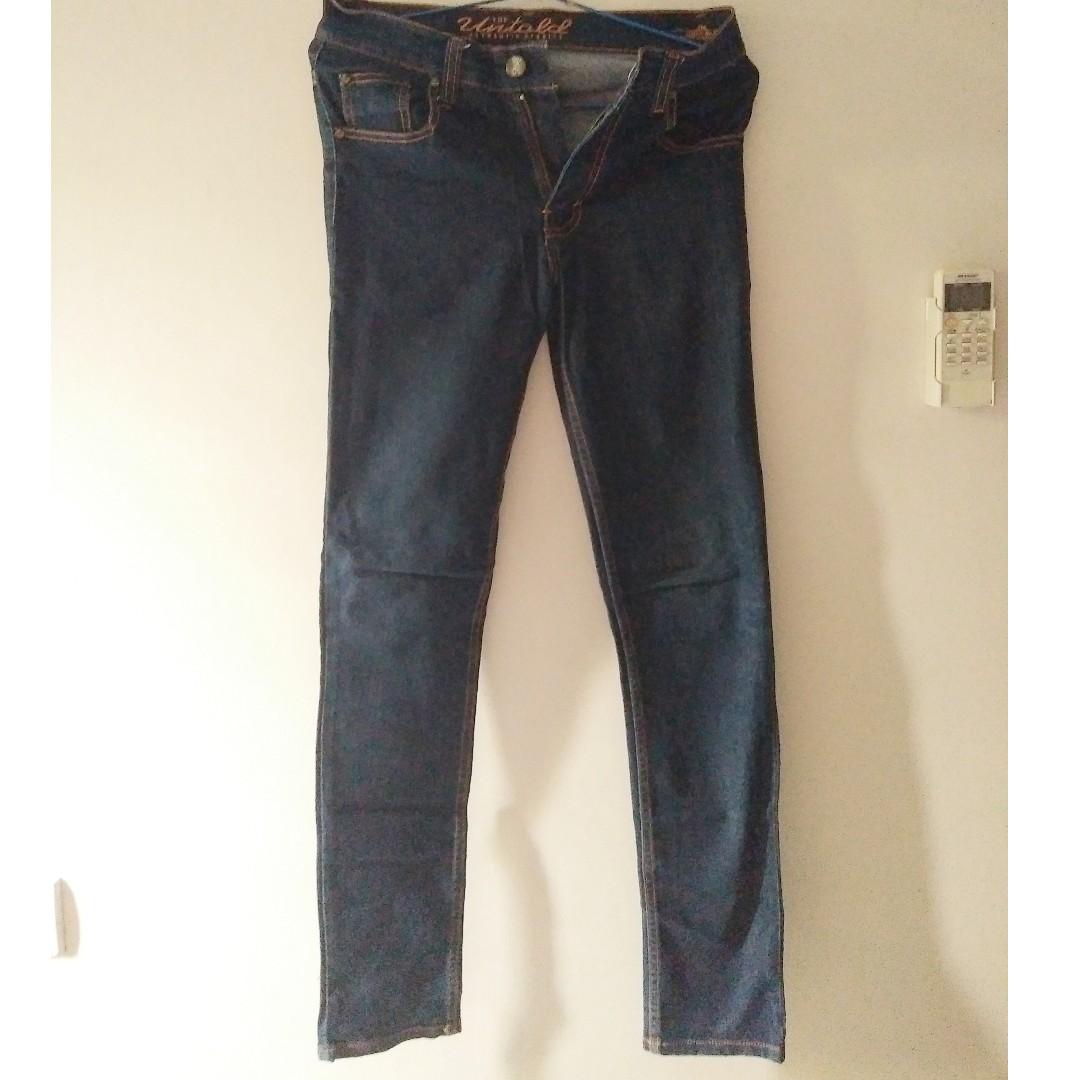 Unisex Skinny Jeans Bloop Endorse Fit to 31