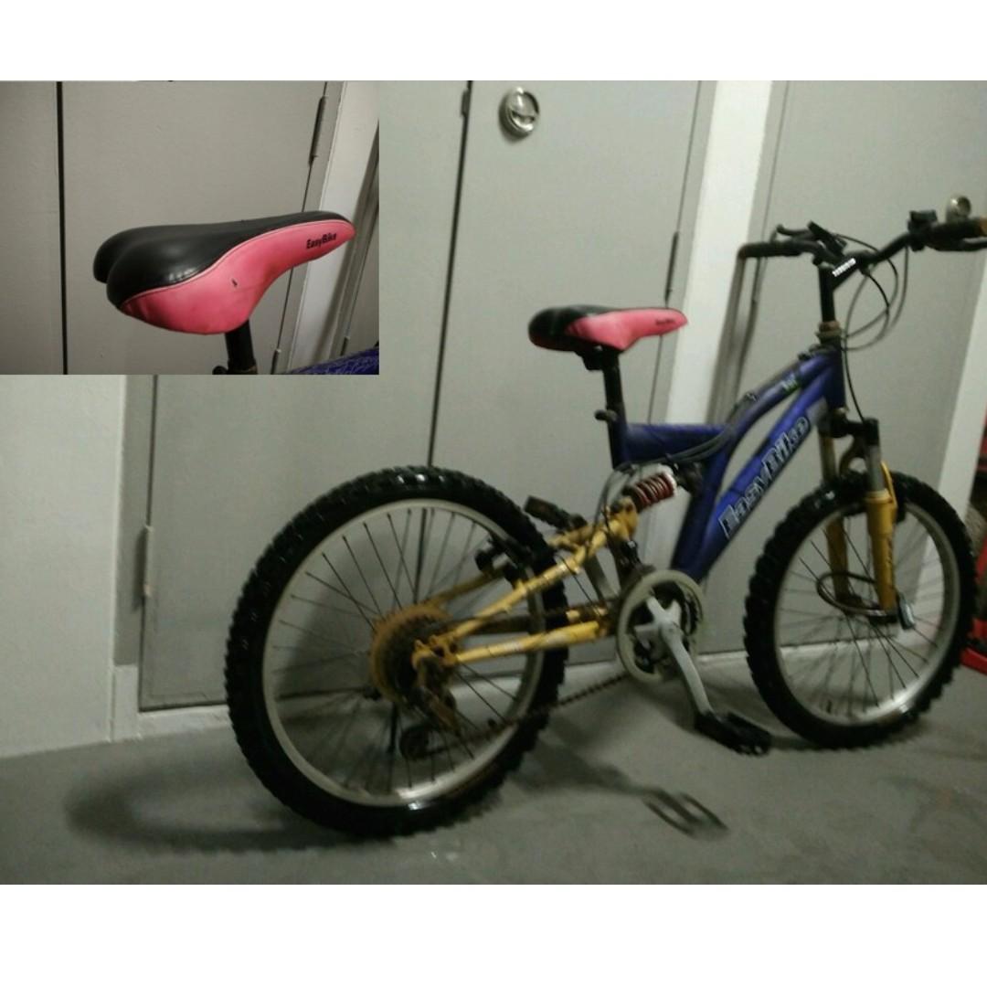 """Used Bicycle EasyBike BMX style 18"""" frame"""