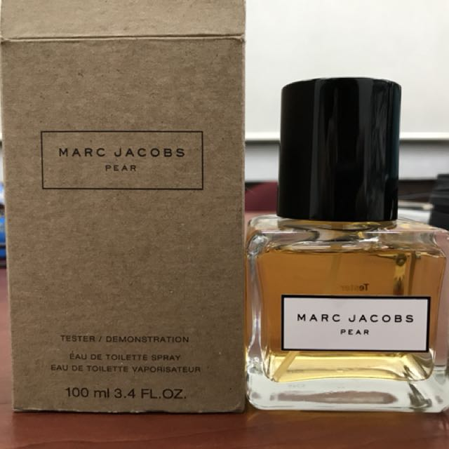⚡️USED⚡️MARC JACOBS PEAR EDT 100ml TESTER FROM LUXASIA
