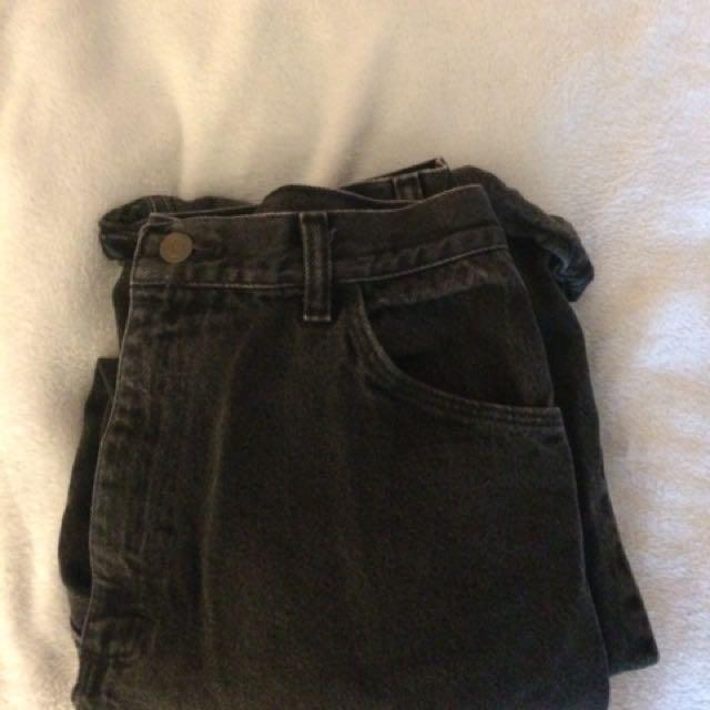 Vintage black wrangler jeans