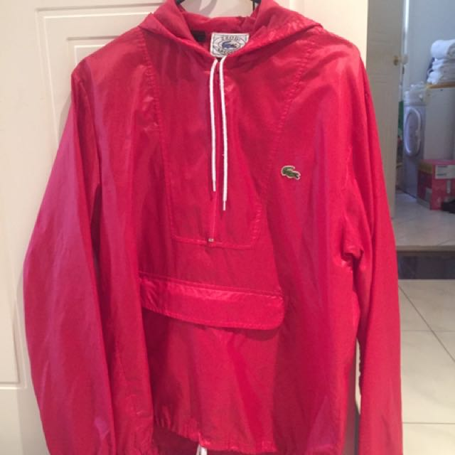Vintage Lacoste Pullover Jacket S