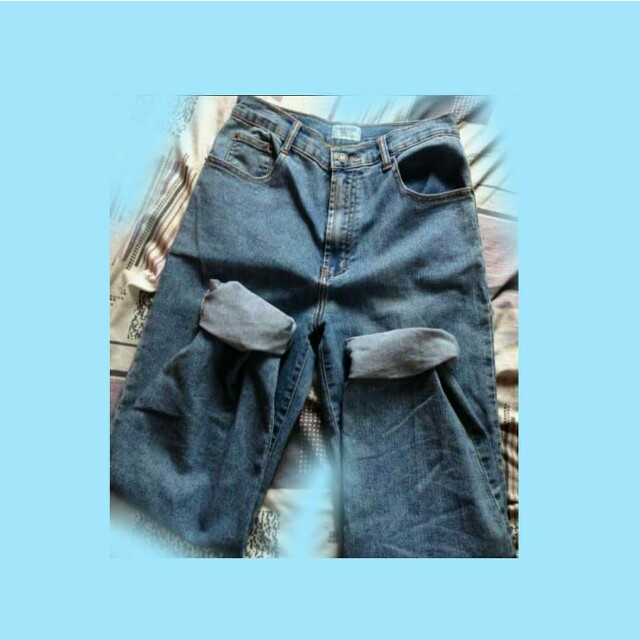 Vintage mom jeans and boyfriend tee FREE SHIPPING!