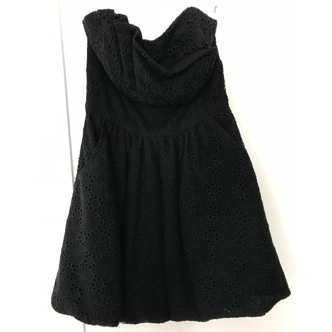 VOOM by JOY HAN USA strapless lace dress - Size XS