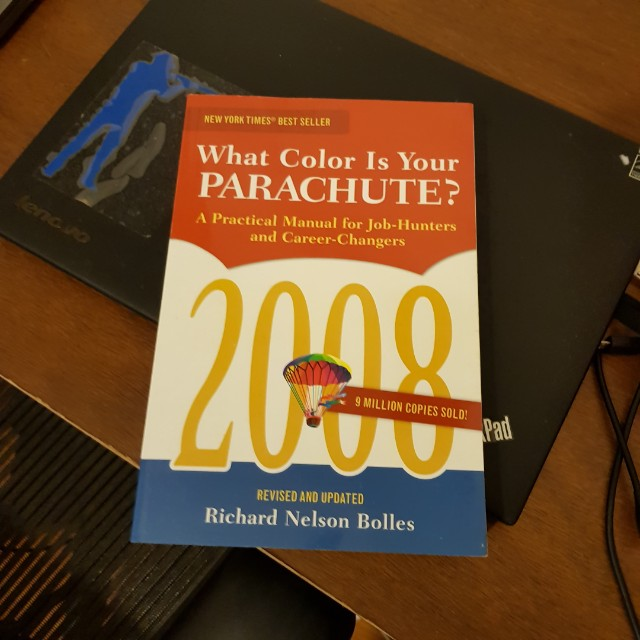 What Color is Your Parachute? Richard Nelson Bolles, Books ...