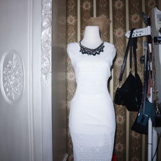 White long dress sz s
