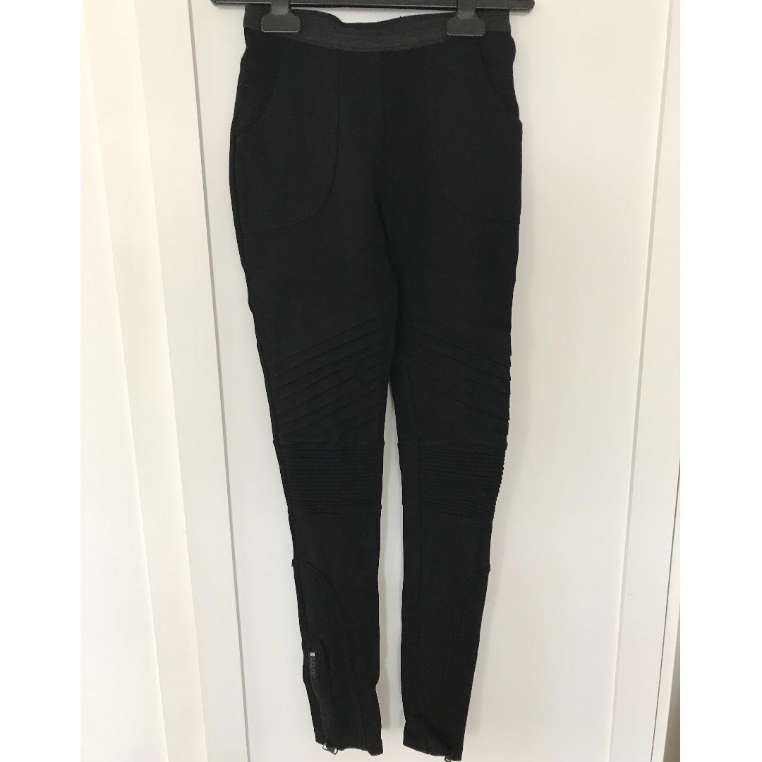 Witchery Legging with Panelling Features - Size 6