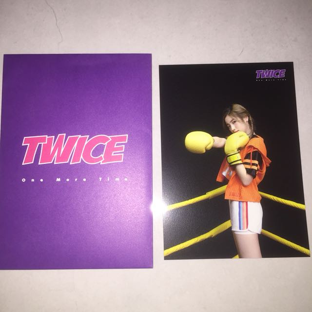 WTS TWICE DAHYUN ONE MORE TIME JAPAN TRADING CARD